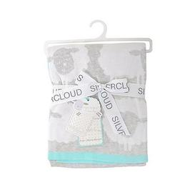 image-Silvercloud Counting Sheep Pram Blanket