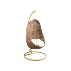 image-Jocelynn Basket Dancing Hanging Chair with Stand