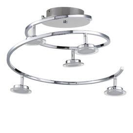 image-Mccune 5-Light LED Ceiling Spotlight Brayden Studio