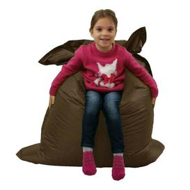image-Bean Bag Lounger Isabelle & Max Upholstery Colour: Brown