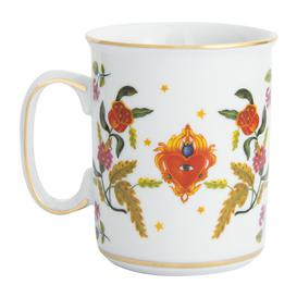 image-Bitossi Home - Funky Table - La Tavola Scomposta - Heart/Eye Mug