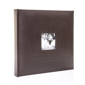 image-Leatherette Memo Photo Album