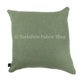 image-Irvine Cushion with filling Yorkshire Fabric Shop Size: Large, Colour: Green