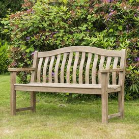 image-Alexander Rose Garden Furniture Sherwood Acacia Turnberry 5ft Bench