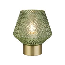 image-Rickie 17.5cm Table Lamp Mercury Row Shade Colour: Green