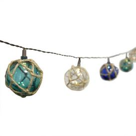image-10 LED Nautical Ball String Lights White