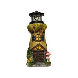 image-Magical Garden Solar Powered Woodland Lighthouse