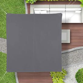 image-Eickhoff 5m x 5m Square Shade Sail Sol 72 Outdoor Colour: Grey