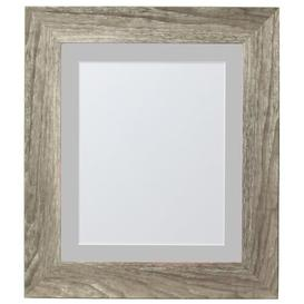 image-Natur Pur Hygge Picture Photo Frame, Plastic Glass, Grey Ash With Ivory Mount, 10 X 8 Inches Image Size A5 Natur Pur Colour: Grey Ash/Light Grey, Size