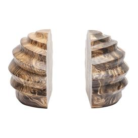 image-Made Goods - Baylor Mango Wood Bookend - Set of 2