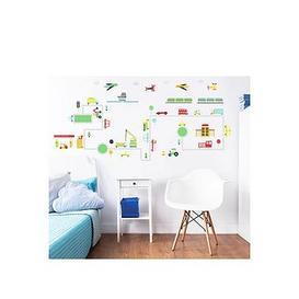 image-Walltastic Transport Wall Stickers