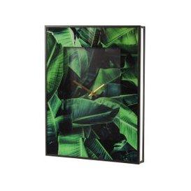 image-Monserrat Palm Print Wall Clock