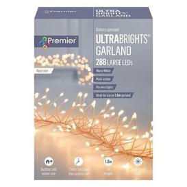image-288 LED Warm White Outdoor UltraBrights Christmas Lights Battery 0.3M