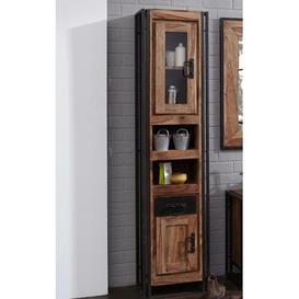 image-Parrish Free Standing Tall Bathroom Cabinet Williston Forge