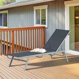 image-Carrow Reclining Sun Lounger Sol 72 Outdoor