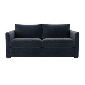 image-Aissa 2.5 Seat Sofabed in Gunmetal Velvet Jacquard