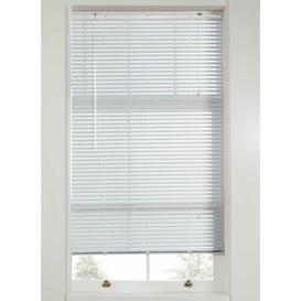 image-Plain Room Darkening Venetian Blind Ebern Designs Size: 160 cm L x 135 cm W, Finish: White