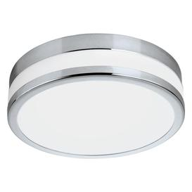 image-Eglo 94999 LED Palermo Bathroom Wall/Ceiling Light In Chrome - Dia: 295mm