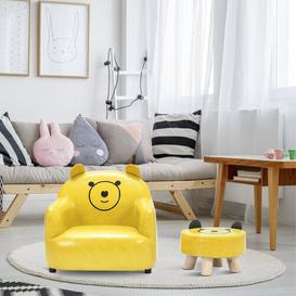 image-Markel Children's Chair and Ottoman Isabelle & Max
