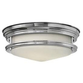 image-HK/HADLEY/F/BATH Hadley 2 Light Polished Chrome Bathroom Flush Light
