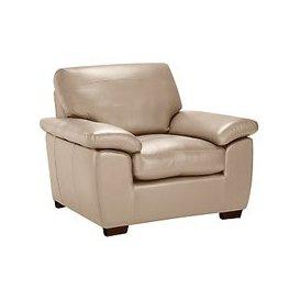 image-John Lewis & Partners Camden Leather Armchair, Dark Leg