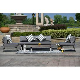 image-Neston 5 Seater Corner Sofa Set Dakota Fields