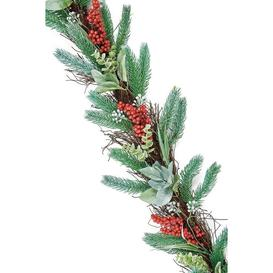 image-Luxury Christmas Berry Garland