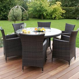 image-Ivanbrook 6 Seater Dining Set Sol 72 Outdoor