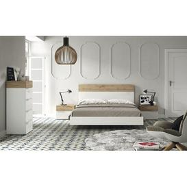 image-Bayer 4 Piece Bedroom Set Brayden Studio Size: 160 x 200 cm