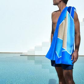 image-Hugo Boss - Salto Beach Towel