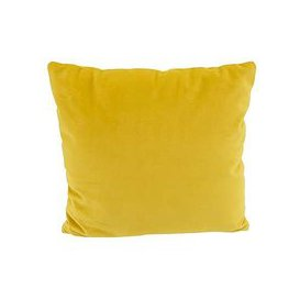 image-Connection Fabric Scatter Cushion - Yellow