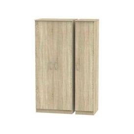image-Avon Bardolino 3 Door Triple Plain Wardrobe
