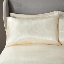 image-5A Fifth Avenue Addison Oyster Housewife Pillowcase Pair Oyster