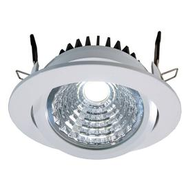 image-Cob 1-Light LED Slim Profile Recessed Lighting Kit Deko Light Colour: White, Farbtemperatur des Leuchtmittels: 6000K