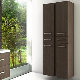 image-Tuttle 172 x 40cm Wall Mounted Tall Bathroom Cabinet Ebern Designs