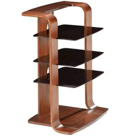image-Jual Florence Walnut Furniture Hi-Fi Entertainment Unit
