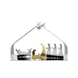 image-Bark Crib Crib - / H 10 cm by Alessi Glossy steel,Gold