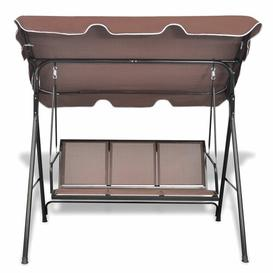 image-Swing Seat with Stand Freeport Park Colour: Brown