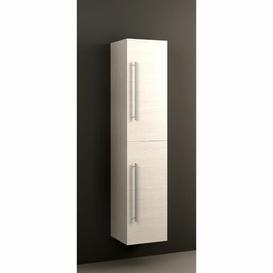 image-Rafferty 35 x 160cm Wall Mounted Cabinet Belfry Bathroom Finish: Taiga