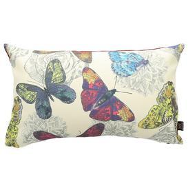 image-Chasse Cushion with filling Fleur De Lis Living Colour: Tropical