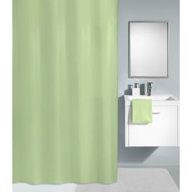 image-Polyester Shower Curtain Symple Stuff Colour: Thistle Green, Size: 200cm H x 120cm W