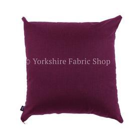 image-Torwood Scatter Cushion Yorkshire Fabric Shop Size: Large, Colour: Burgundy
