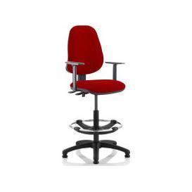 image-Lunar 2 Lever Draughtsman Chair (Adjustable Arms)