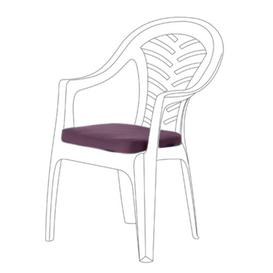 image-Resol Palma Garden Dining Chair Cushion Sol 72 Outdoor Colour: Purple