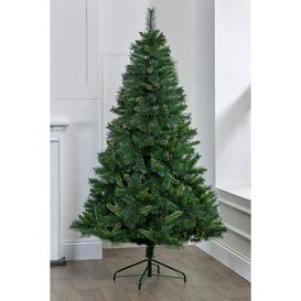 image-Luxury Glitter Tipped Narvik Green Spruce Christmas Tree