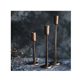 image-Hand forged Candleholder Trio