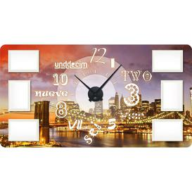 image-Bloom Wall Clock Happy Larry Colour: Black