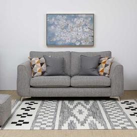 image-Skandi 2 Seater Sofa Silver
