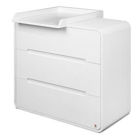 image-Yappyowl 3 Drawer Dresser YappyKids Colour: White