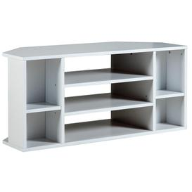 image-Habitat Suki Corner TV Unit - White